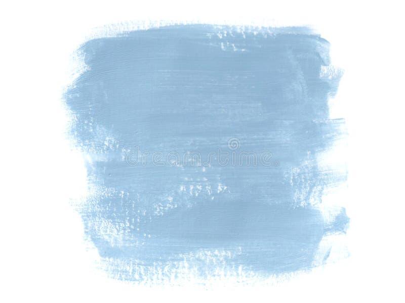 Fondo astratto con le pitture acriliche illustrazione vettoriale