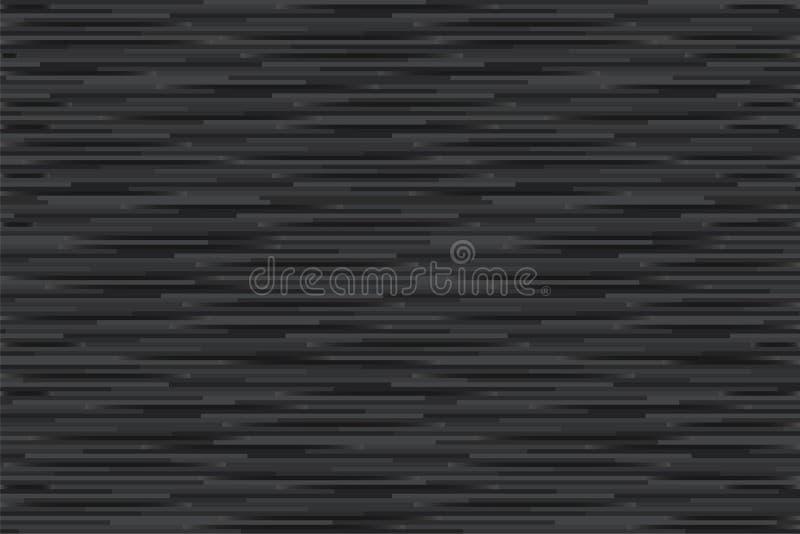 Fondo astratto con tonalità in bianco e nero orizzontale della banda illustrazione vettoriale