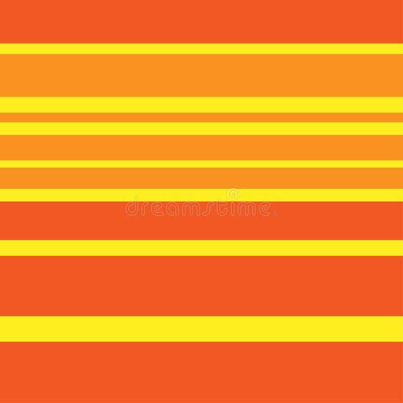 Fondo astratto d'avanguardia a colori i colori caldi illustrazione vettoriale