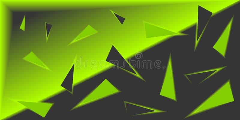 Fondo astratto 3D Contesto geometrico variopinto immagine stock
