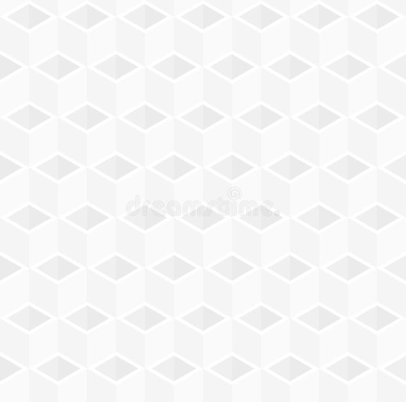Fondo astratto del modello del contenitore di cubo 3d royalty illustrazione gratis