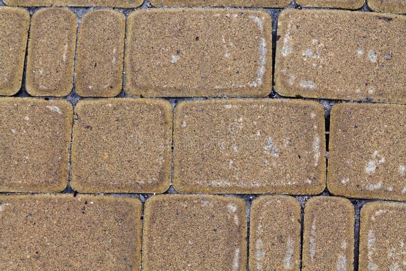 Fondo astratto del muro di mattoni arancio delle for Mattonelle da muro