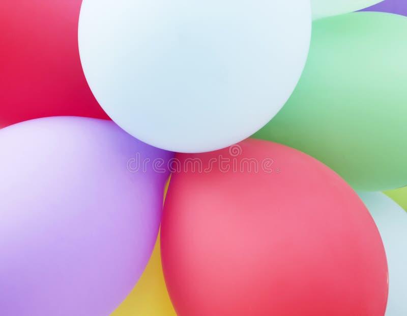 Fondo astratto del partito di festa dei palloni variopinti fotografia stock libera da diritti