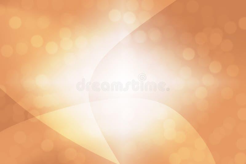 Fondo astratto dell'arancia fotografie stock