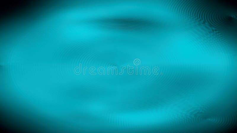 Fondo astratto dell'onda del blu 3d fotografia stock