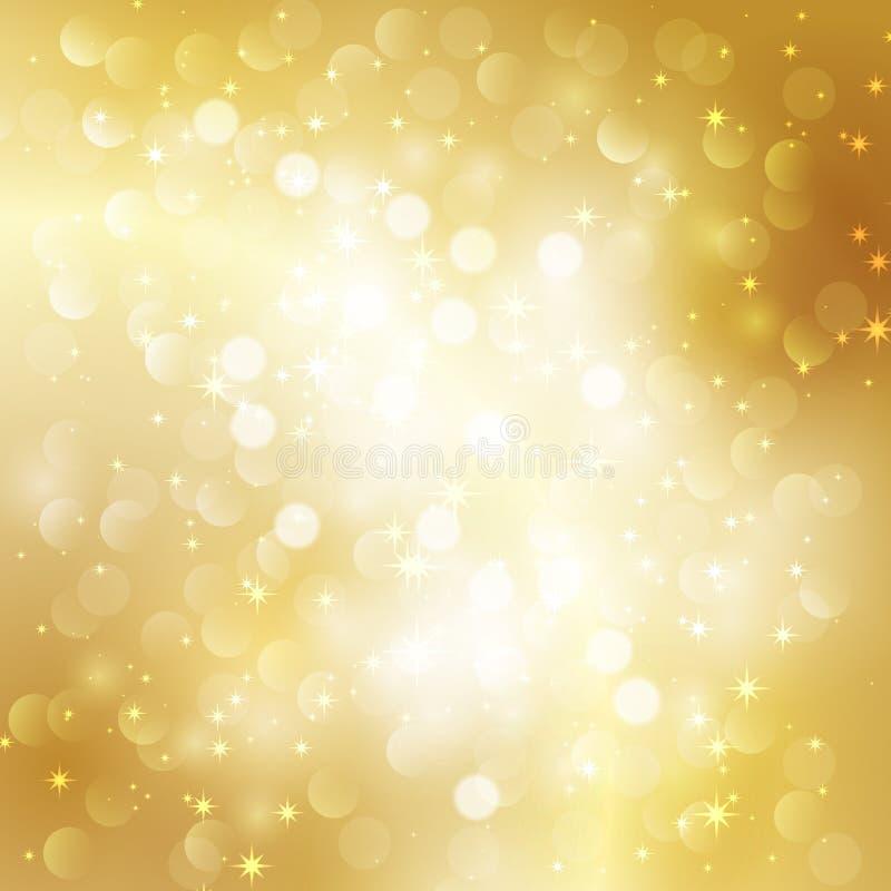 Fondo astratto dell'oro royalty illustrazione gratis