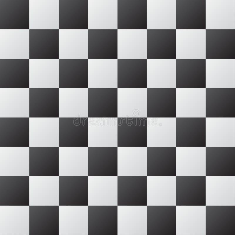 Fondo astratto della scacchiera illustrazione vettoriale