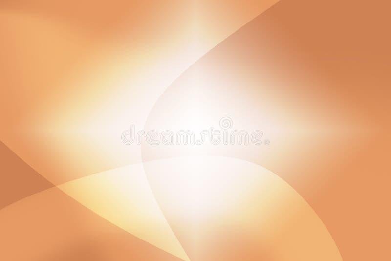 Fondo astratto di bello bokeh arancio fotografia stock
