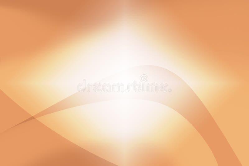 Fondo astratto di bokeh arancio e bello fotografie stock