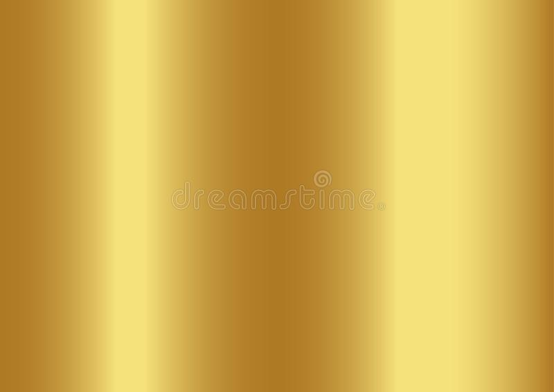 Fondo astratto di colore dell'oro, illustrazioni di vettore illustrazione vettoriale