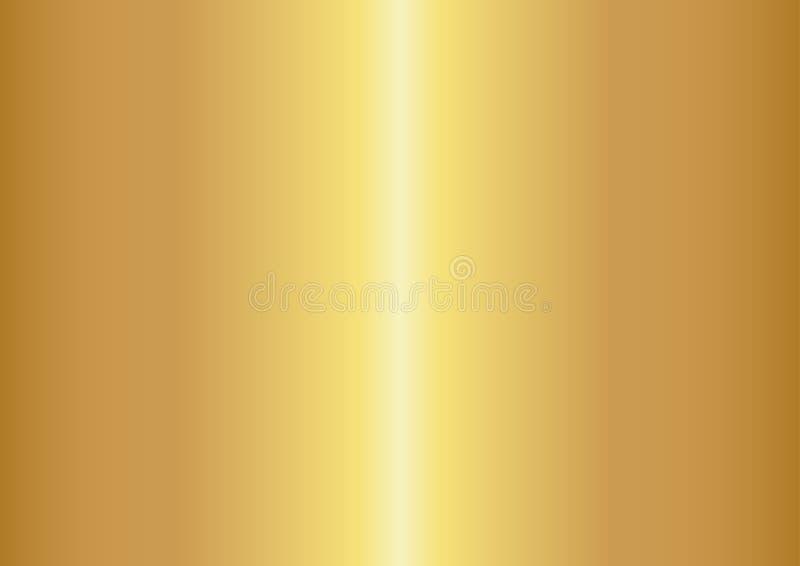 Fondo astratto di colore dell'oro, illustrazioni di vettore illustrazione di stock