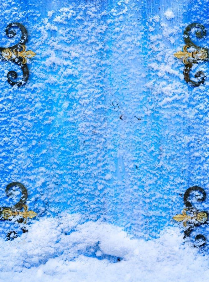 Fondo astratto di fantasia della neve di Natale di arte immagine stock libera da diritti