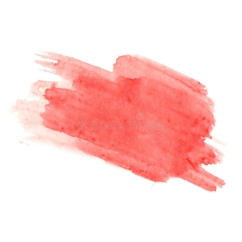 Fondo astratto di goccia della spruzzata dell'acquerello per illustrazione di stock