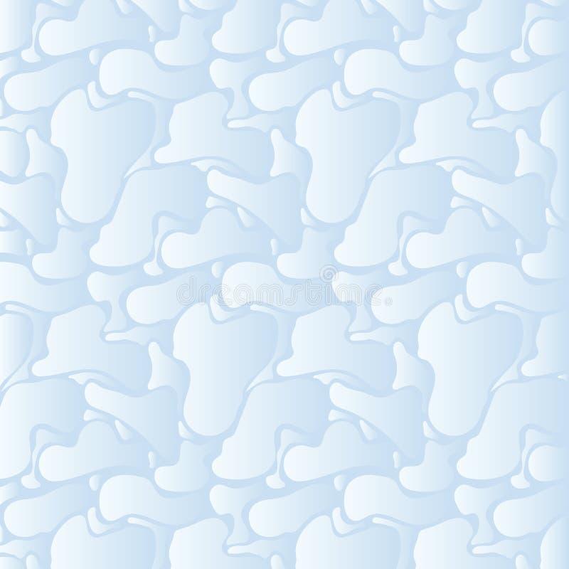 Fondo astratto di pendenza della superficie blu dell'acqua illustrazione vettoriale