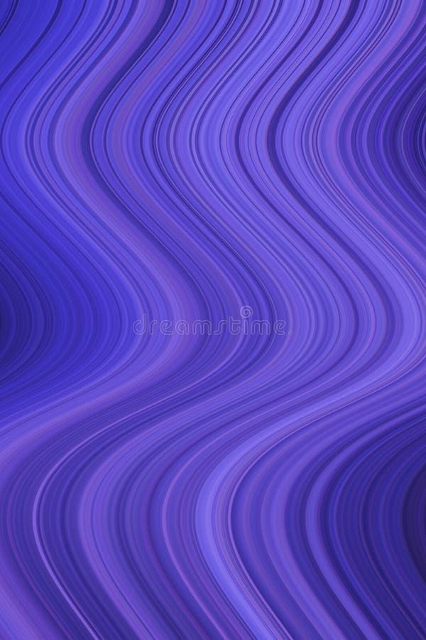 Fondo astratto di pendenza delle linee multicolori illustrazione vettoriale
