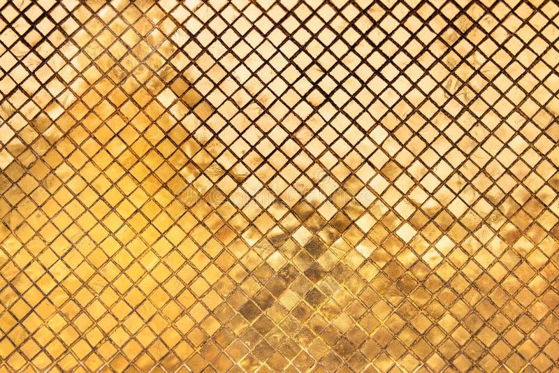 Fondo astratto di struttura dell'oro fotografia stock libera da diritti