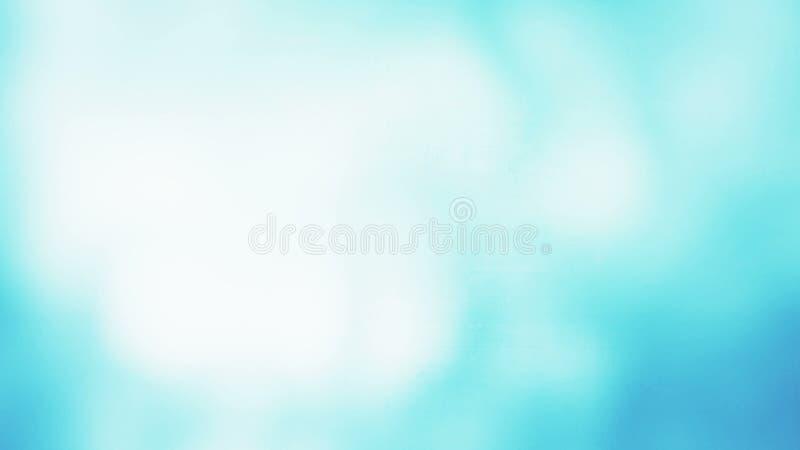 Fondo astratto digitale di rumore blu di frattale, striscie palide immagini stock