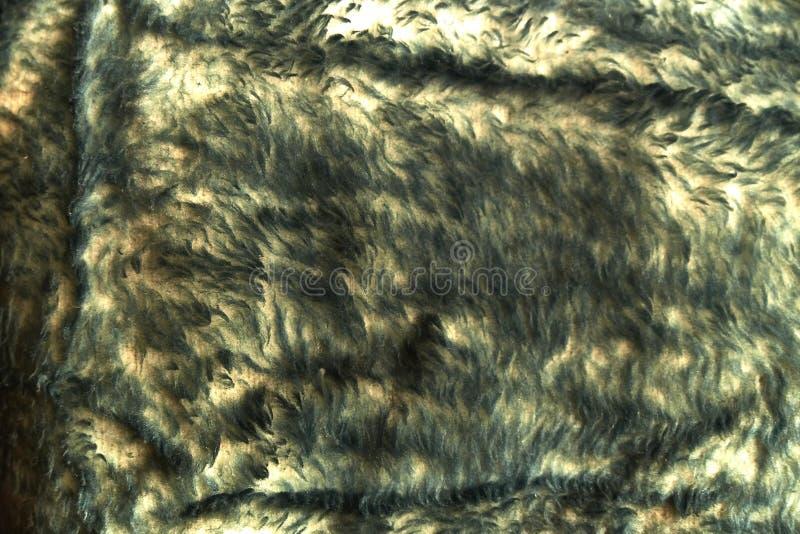 Fondo astratto, disegno della lana naturale immagini stock