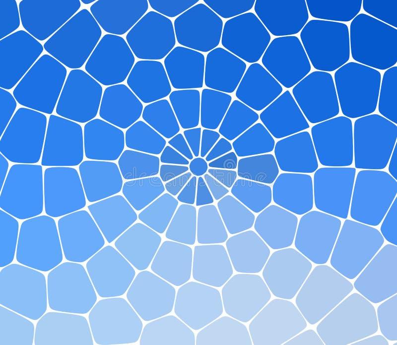 Fondo astratto fatto del modello di mosaico brillante Per l'aletta di filatoio del partito di progettazione, manifesto del night- illustrazione di stock