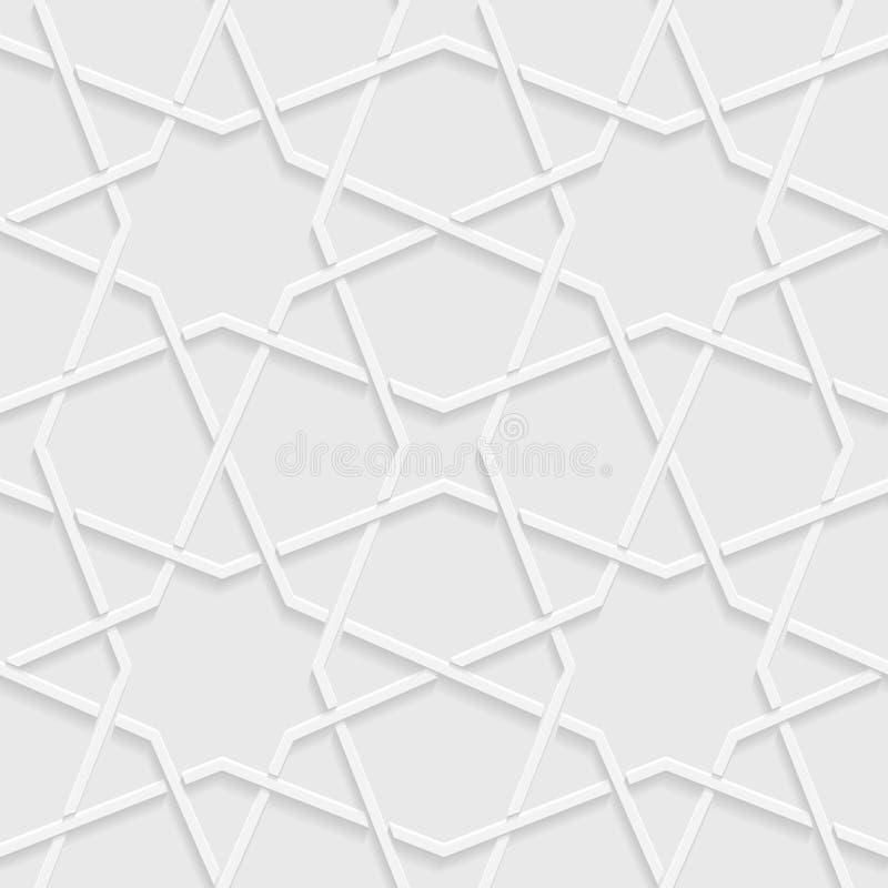 Fondo astratto, forme geometriche grigio chiaro royalty illustrazione gratis