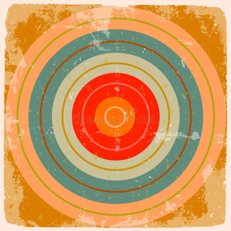 Fondo astratto geometrico royalty illustrazione gratis