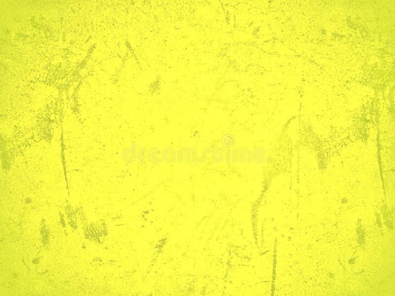 Fondo astratto giallo fotografia stock