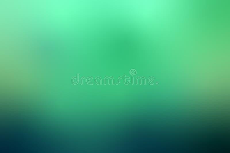 Fondo astratto gredient verde dell'aurora polare illustrazione vettoriale