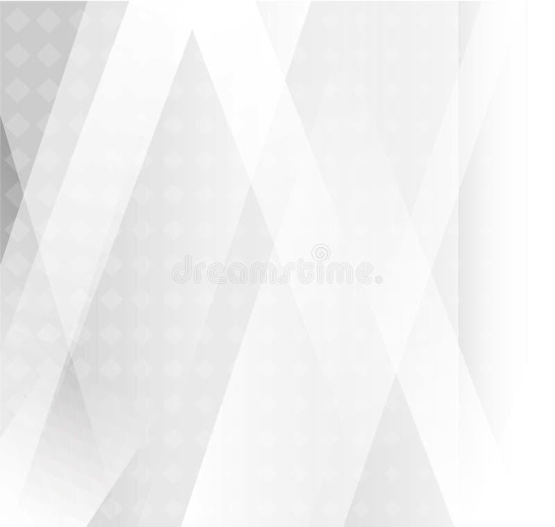 Fondo astratto grigio e bianco, illustrazione eps10 illustrazione di stock