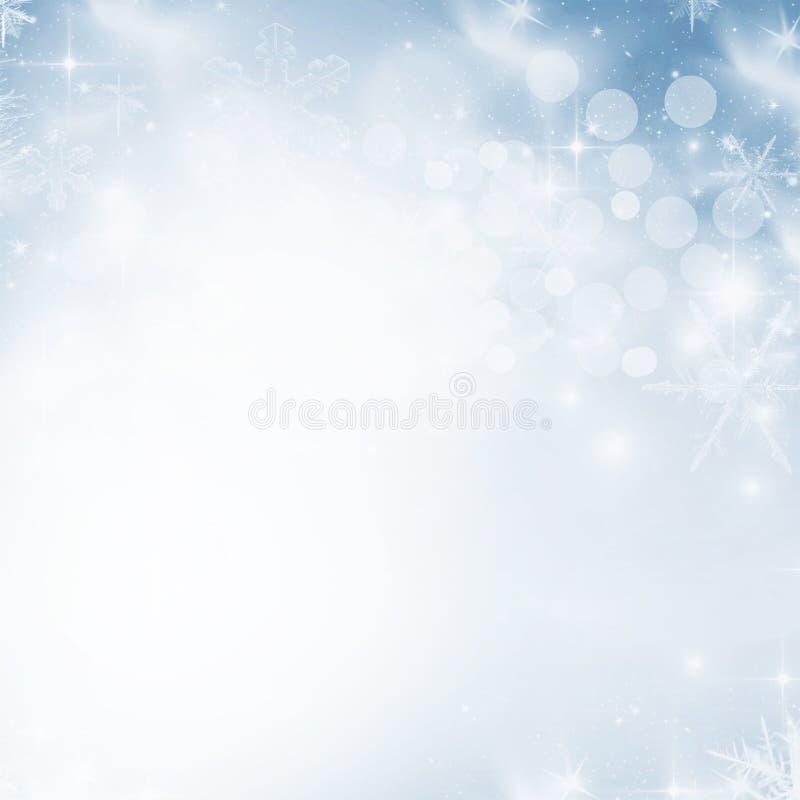 Fondo astratto leggero di Natale fotografia stock libera da diritti
