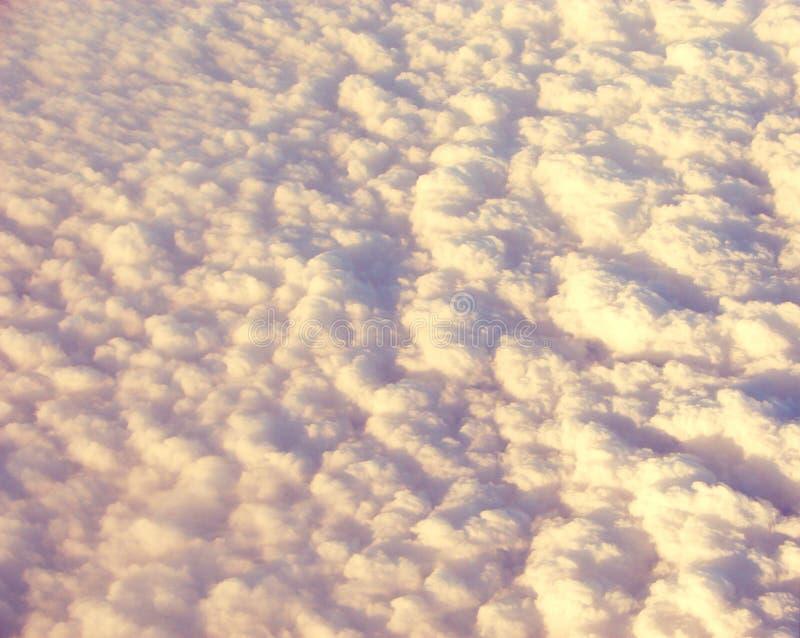 Fondo astratto - letto delle nuvole immagine stock libera da diritti