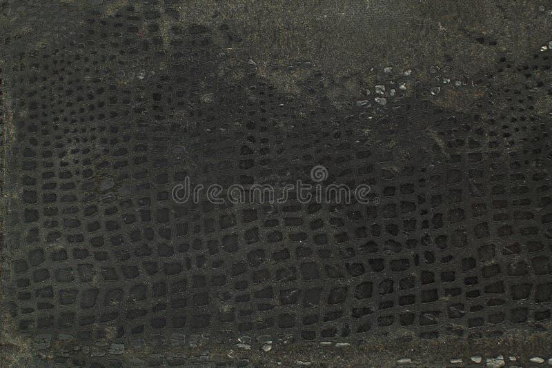 Fondo astratto materiale di struttura della struttura di cuoio naturale fotografie stock libere da diritti