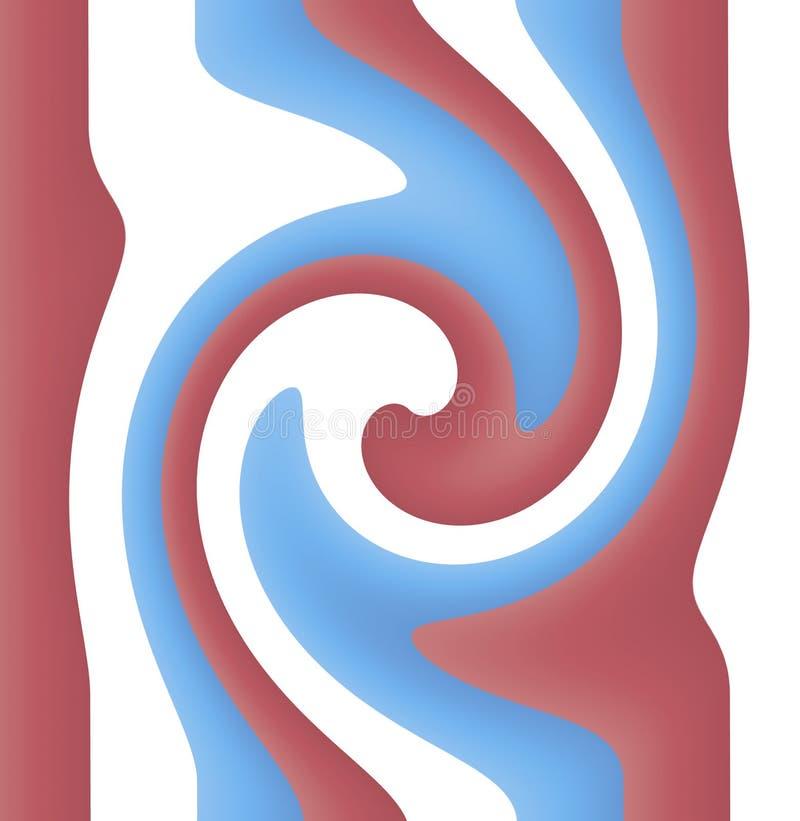 Fondo astratto - materiale illustrativo digitale illustrazione vettoriale