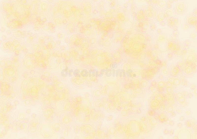 Fondo astratto nei toni beige e gialli illustrazione vettoriale