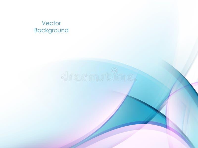 Fondo astratto ondulato illustrazione vettoriale