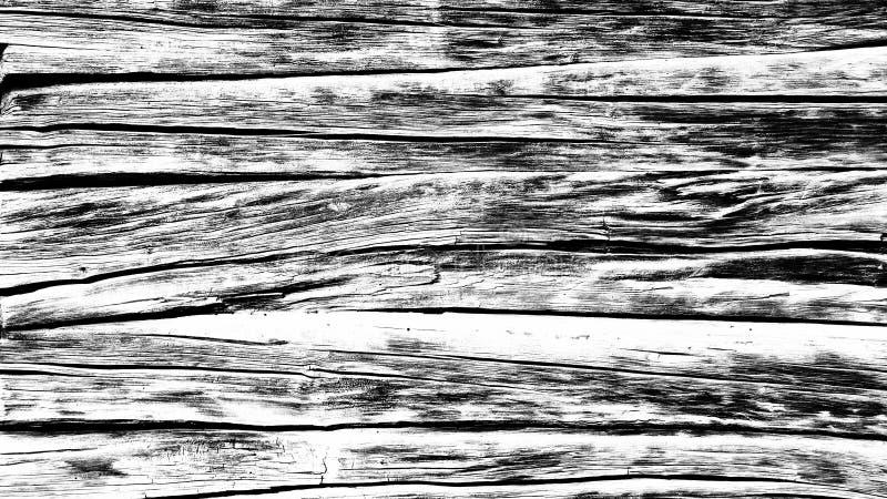 Fondo astratto per la progettazione, effetto monocromatico Parete di legno invecchiata immagini stock libere da diritti