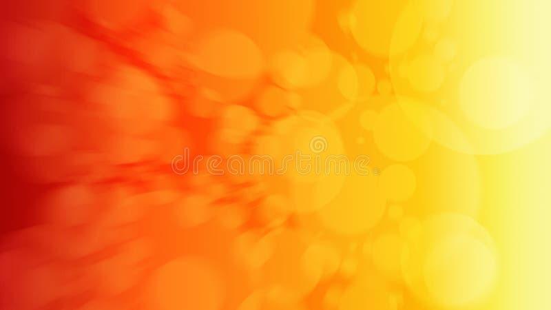Fondo astratto rosso e giallo di pendenza illustrazione vettoriale