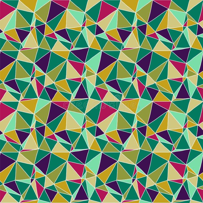 Fondo astratto senza cuciture di Origami illustrazione vettoriale