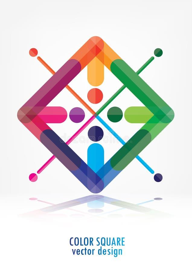 Download Fondo Astratto Variopinto Di Logo Illustrazione Vettoriale - Illustrazione di decorazione, colore: 56883986