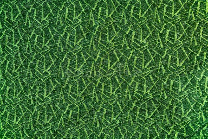 Fondo astratto verde scuro con i tocchi verde chiaro fotografia stock