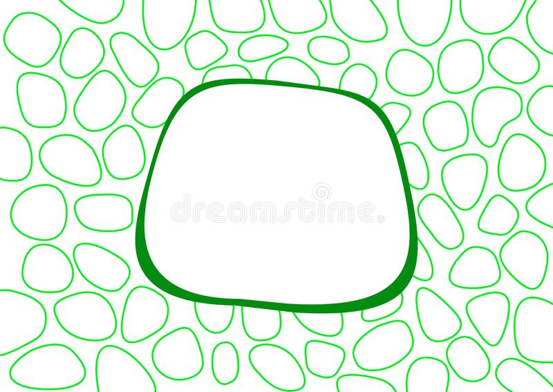 Fondo astratto verde semplice immagini stock