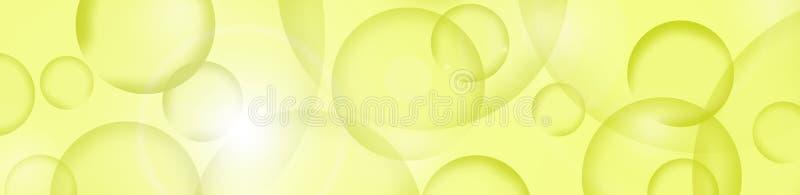 Fondo Astrazione con i cerchi colorati royalty illustrazione gratis