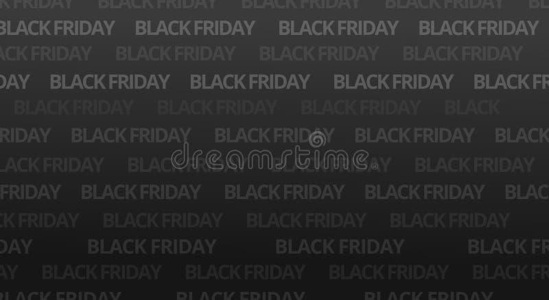 Fondo audace nero della fonte di venerdì fotografia stock