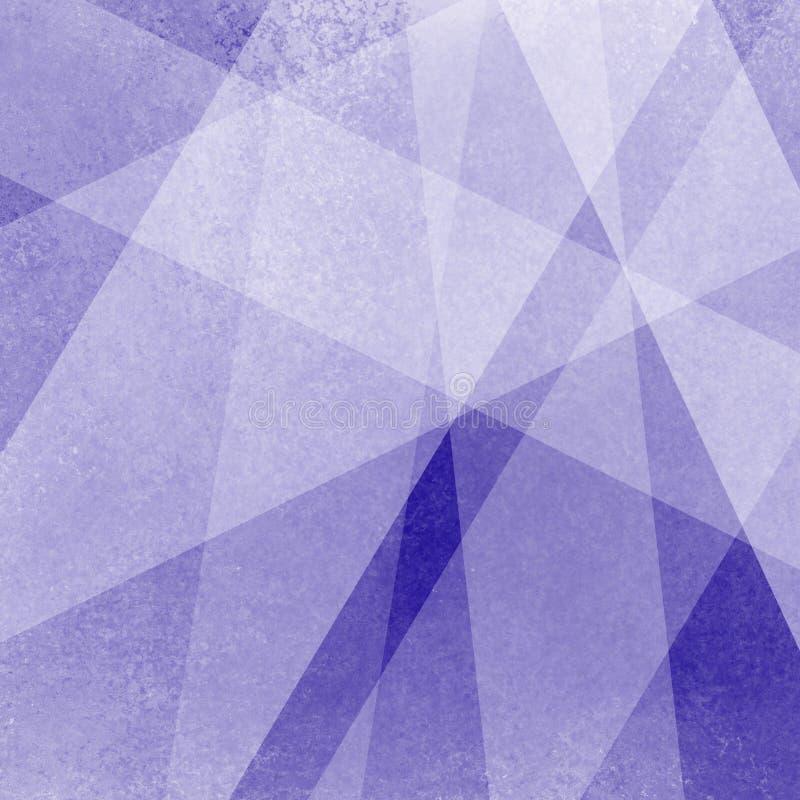 Fondo azul abstracto con rectángulos acodados geométricos ilustración del vector