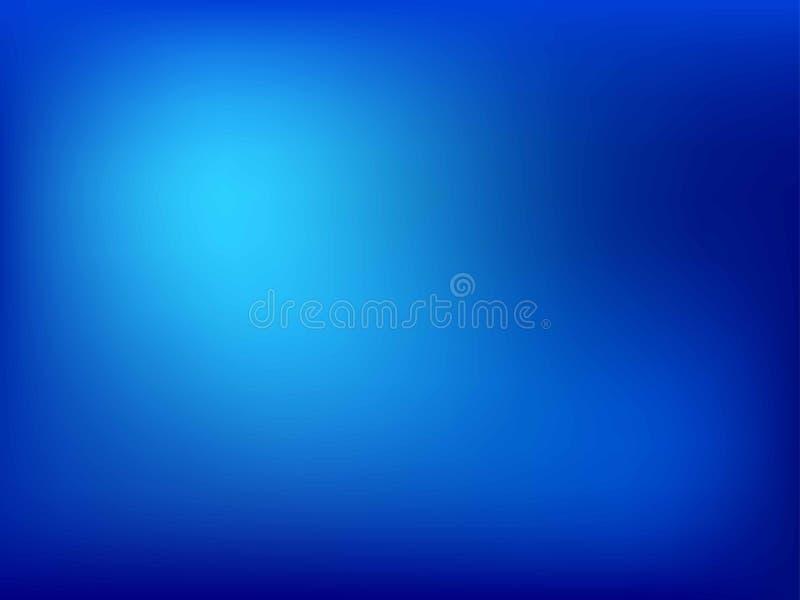 Fondo azul abstracto de la pendiente del color de la falta de definición para el diseño gráfico Ilustraci fotografía de archivo
