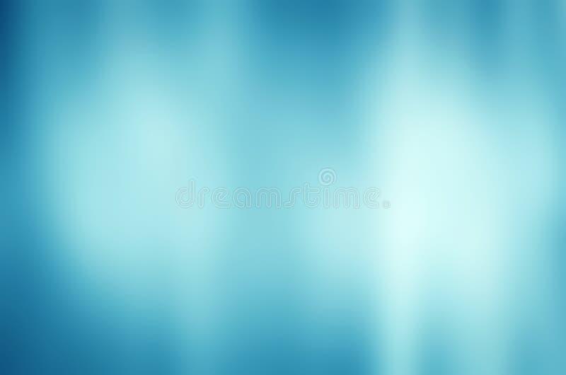 Fondo azul abstracto de la pendiente de la falta de definición imagenes de archivo