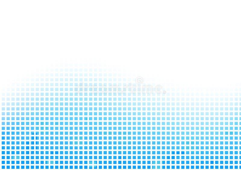 Fondo azul abstracto de la rejilla del vector ilustración del vector