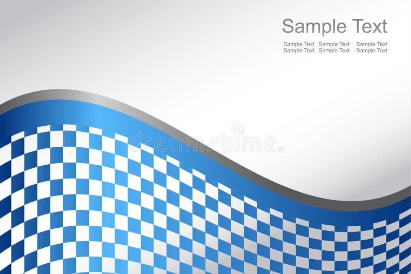 Fondo azul abstracto del vector stock de ilustración