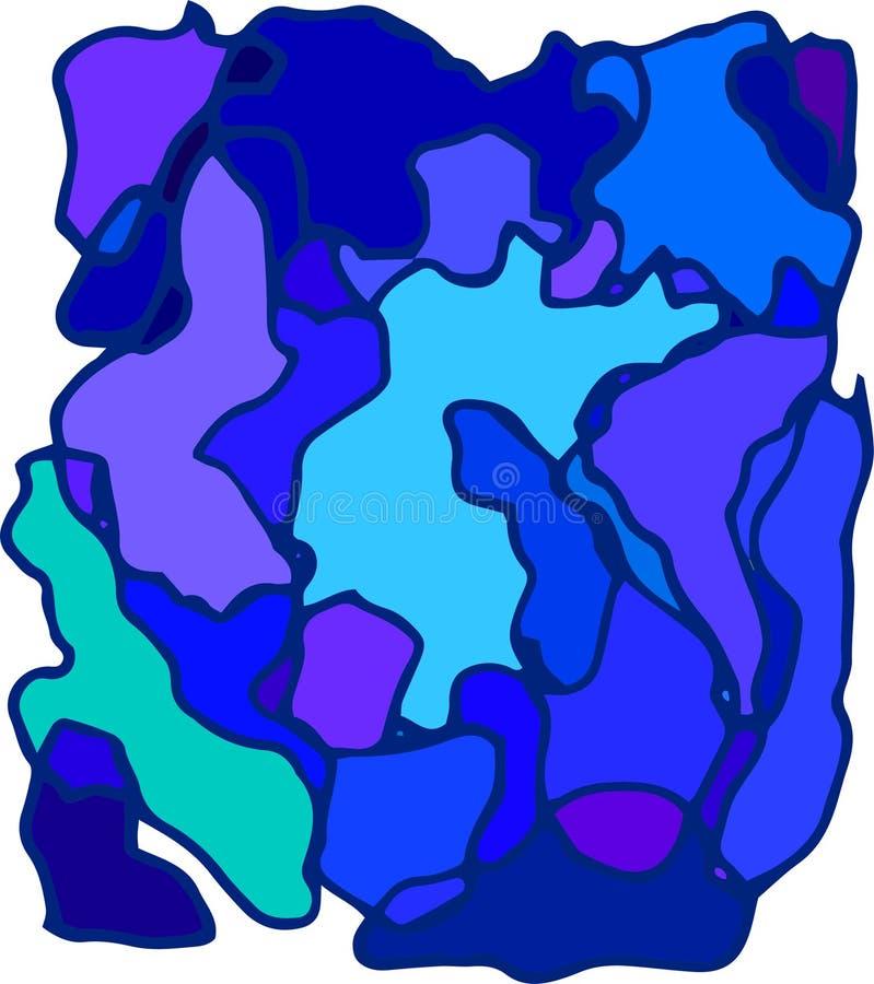 Fondo azul abstracto para el negocio mapa de color y diseño gráfico en el ejemplo wallpaper libre illustration