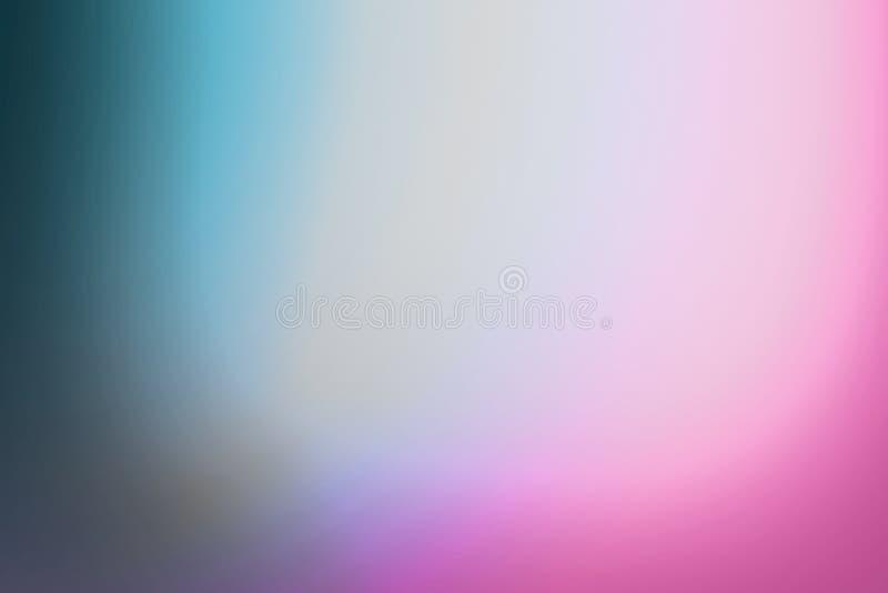 Fondo azul brillante de la falta de definición de la pendiente del color del extracto colorido con el diseño de la ilustración pa foto de archivo