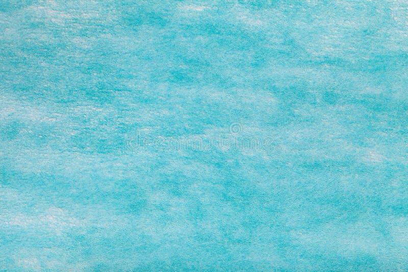 Fondo azul claro de la tela del fieltro Textura de la materia textil de lana fotografía de archivo libre de regalías
